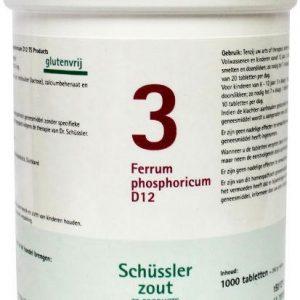 Ferrum phosphoricum 3 D12 Schussler